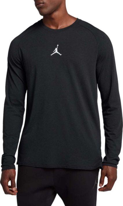Jordan Mens Dry 23 Alpha Long Sleeve Shirt  Dicks -1287