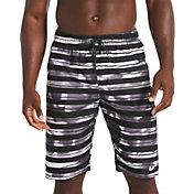 "Nike Men's Block Striped Breaker 11"" Volley Swim Trunks"
