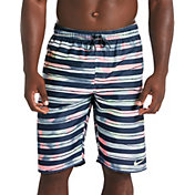 Nike Men's Block Striped Breaker 11' Volley Swim Trunks