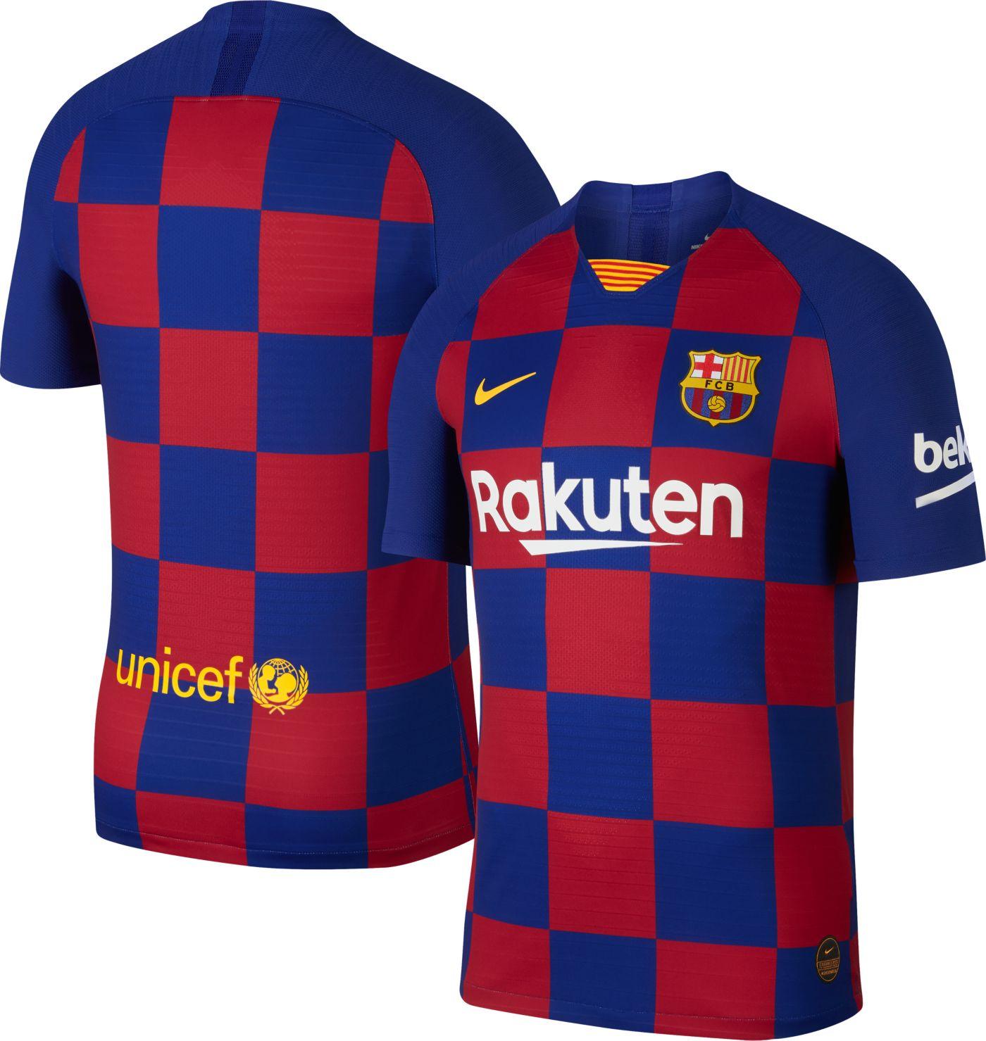 Nike Men's FC Barcelona '19 Vapor Authentic Match Home Jersey