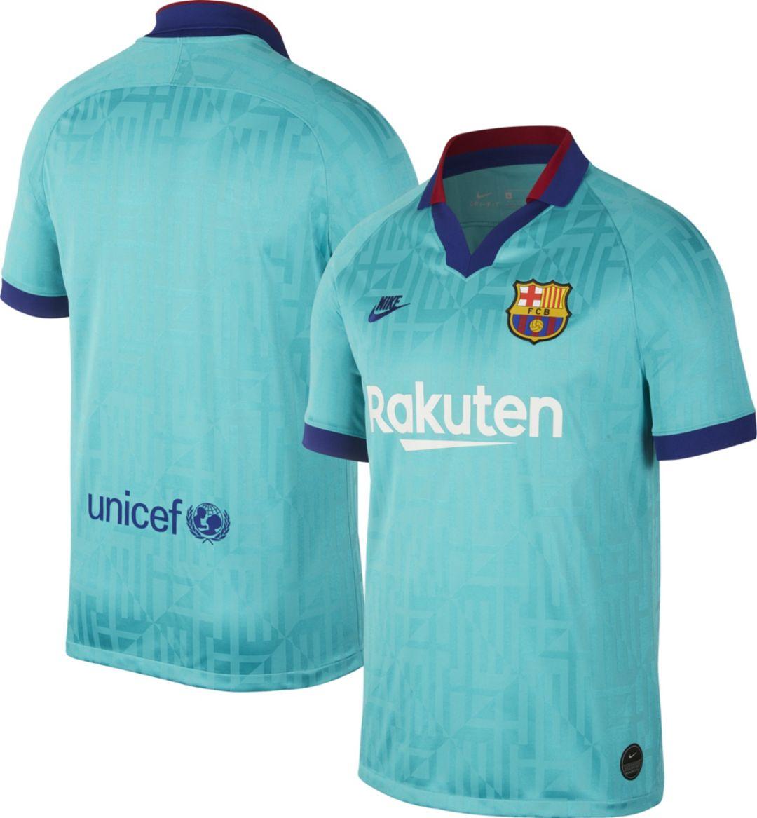 buy online 25724 2140b Nike Men's FC Barcelona '19 Breathe Stadium Third Replica Jersey