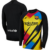 Nike Men's FC Barcelona '19 Breathe Stadium Goal Keeper Replica Jersey