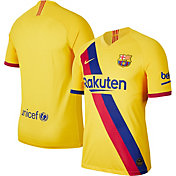 Nike Men's FC Barcelona '19 Vapor Authentic Match Away Jersey