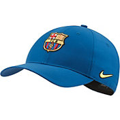 Nike Men's FC Barcelona L91 Blue Adjustable Hat