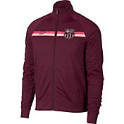 Nike Men's FC Barcelona Maroon Full-Zip Track Jacket