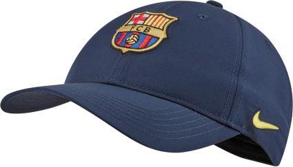 Nike Men s FC Barcelona L91 Navy Adjustable Hat. noImageFound 5fd9c709b80
