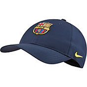 Nike Men's FC Barcelona L91 Navy Adjustable Hat