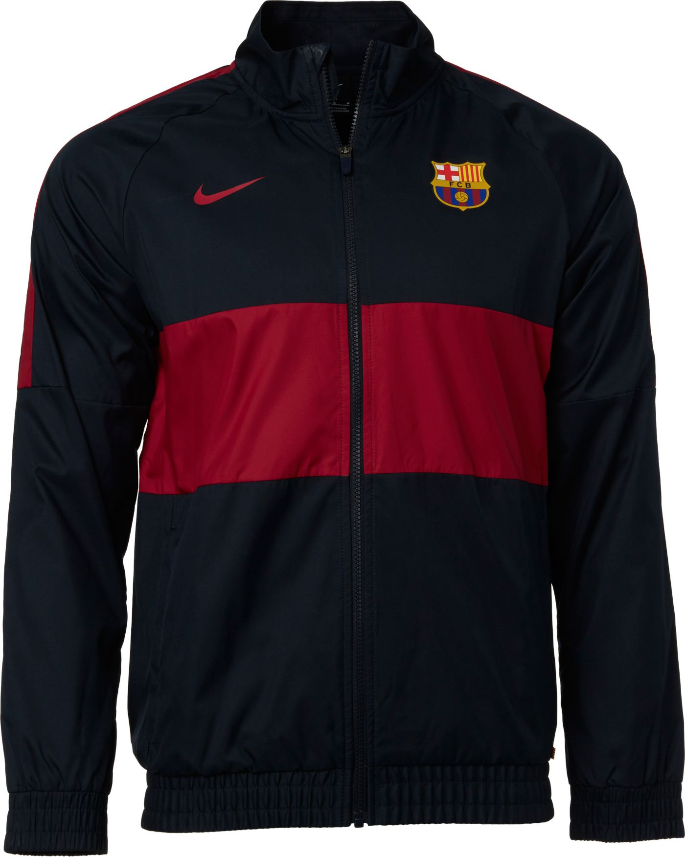 Nike Men's FC Barcelona Navy Track Jacket