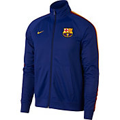 Nike Men's FC Barcelona Royal Full-Zip Track Jacket