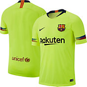 Nike Men's Barcelona FC 2018 Vapor Authentic Match Away Jersey