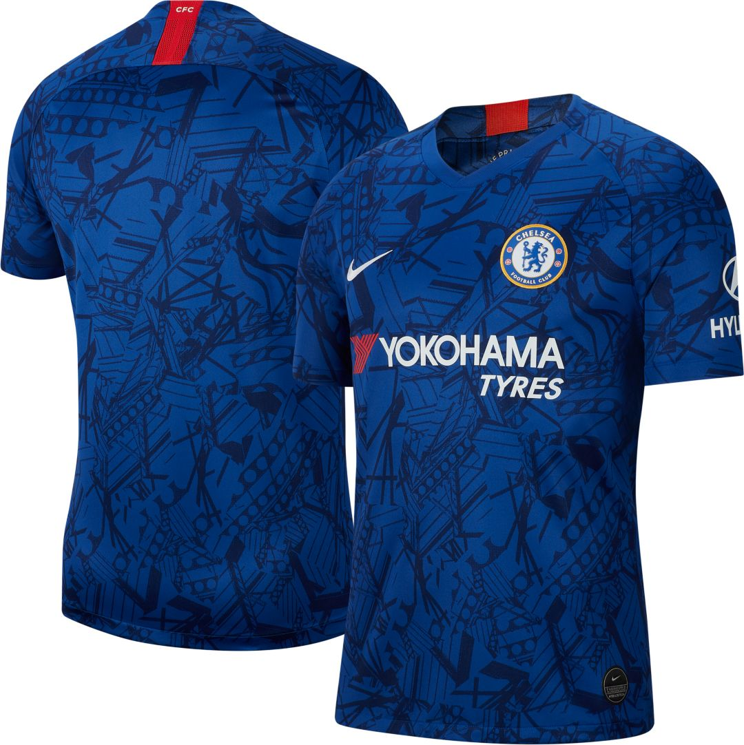 official photos 70c18 cfcd6 Nike Men's Chelsea FC '19 Breathe Stadium Home Replica Jersey