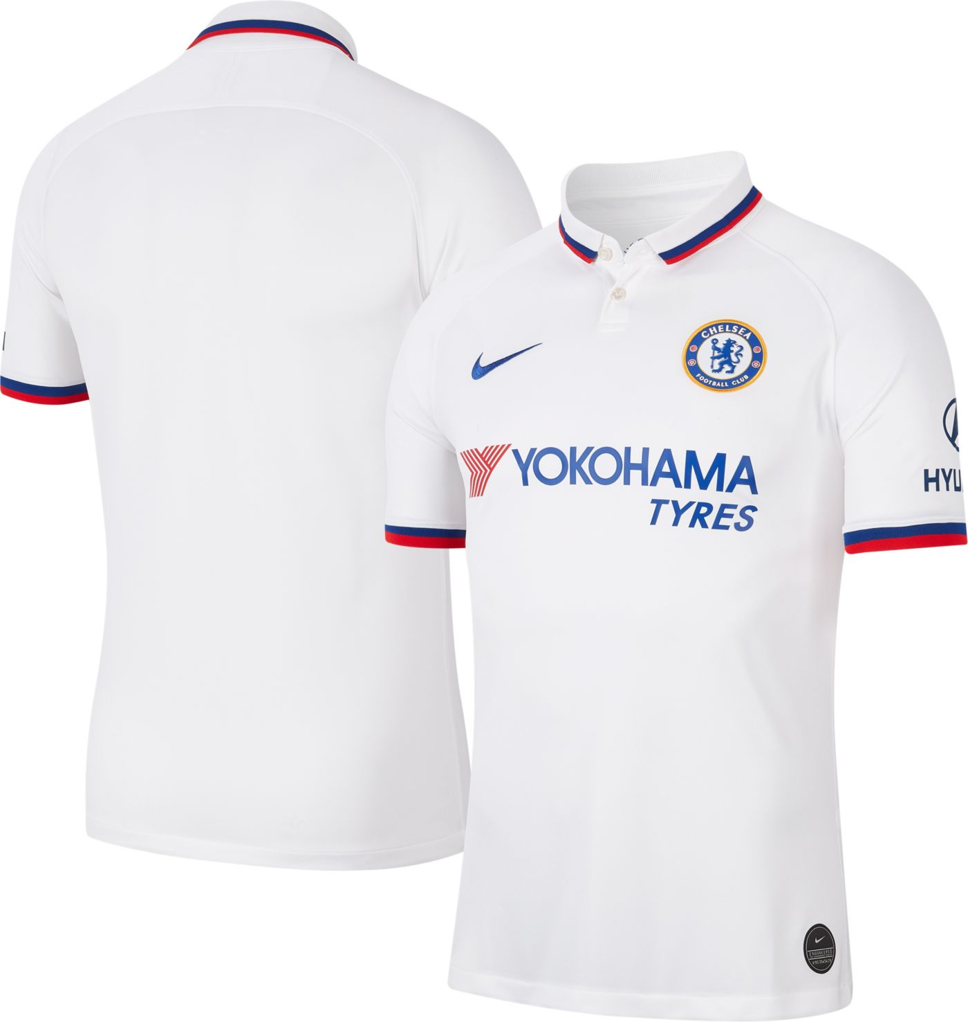 Nike Men's Chelsea FC '19 Breathe Stadium Away Replica Jersey