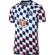 Nike Men's Chelsea FC Checkered Prematch Top