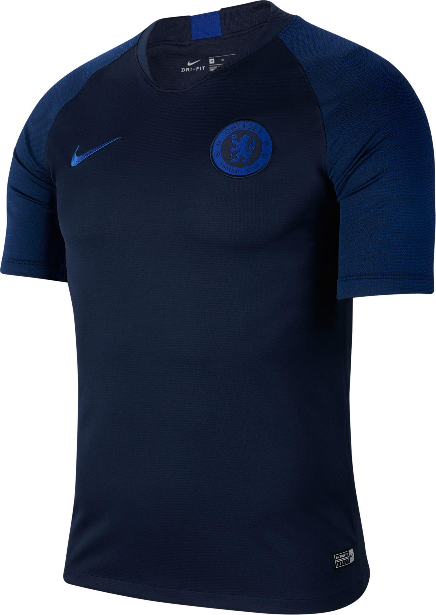 Nike Men's Chelsea FC Navy Training Shirt