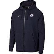 Nike Men's Chelsea FC Royal Full-Zip Hoodie