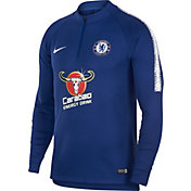 Nike Men's Chelsea FC Royal Quarter-Zip Pullover