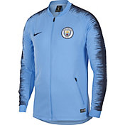 Nike Men's Manchester City Blue Full-Zip Jacket