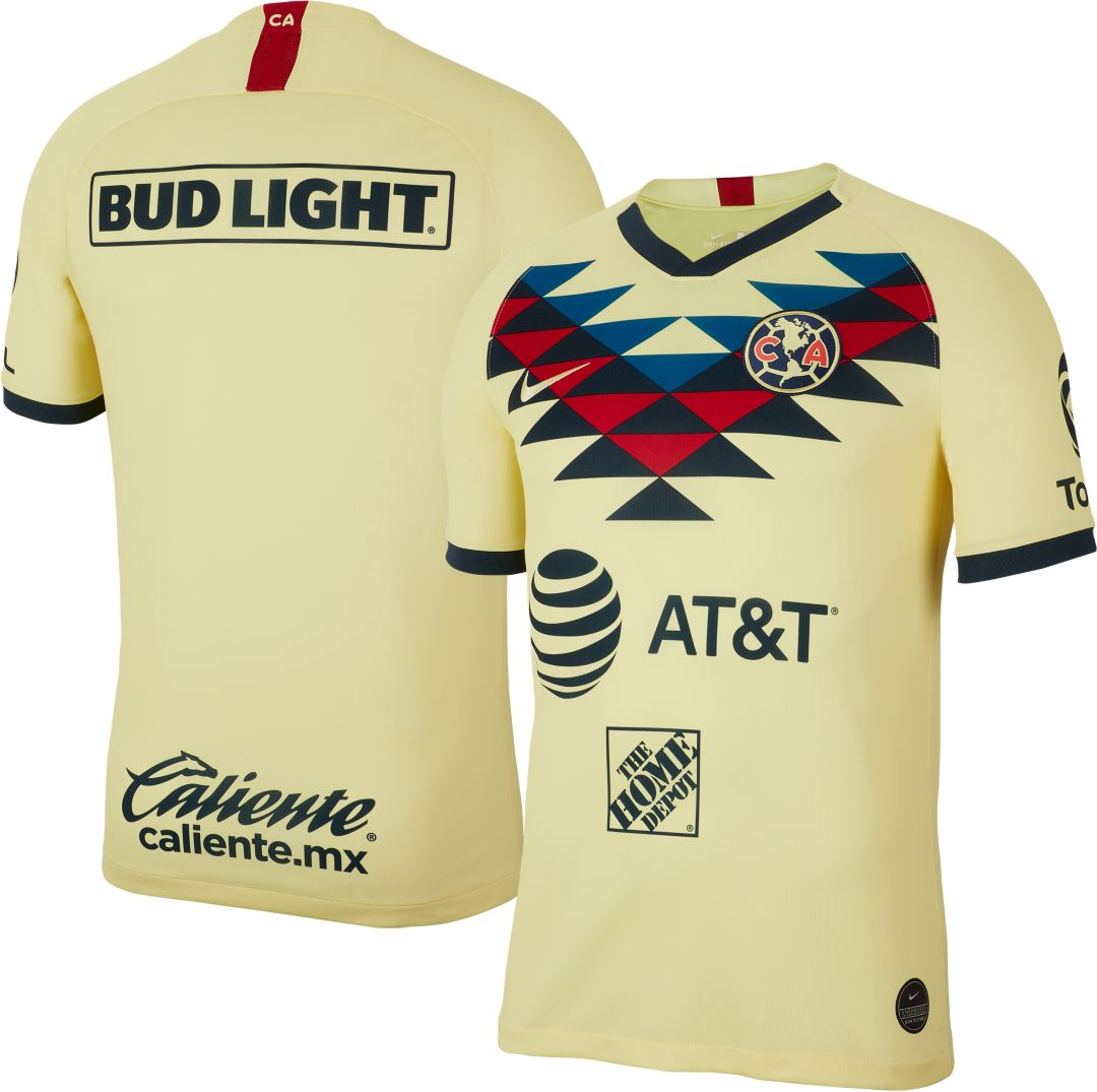 the best attitude 3af8c 8a7b8 Nike Men's Club America '19 Breathe Stadium Home Replica Jersey