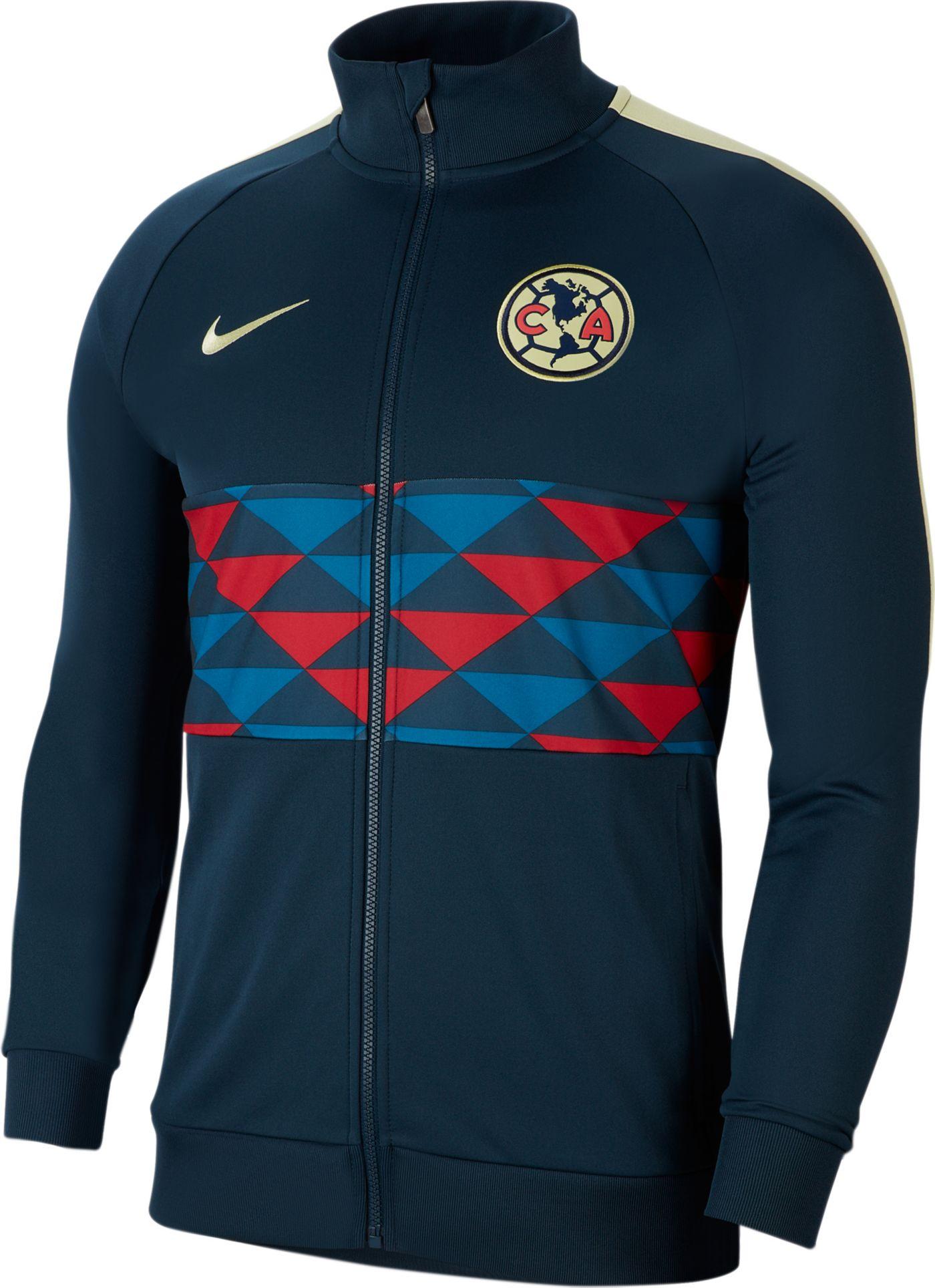 Nike Men's Club America I96 Navy Full-Zip Jacket
