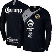 Nike Men's Club America 2018 Breathe Stadium Home Replica Long Sleeve Jersey