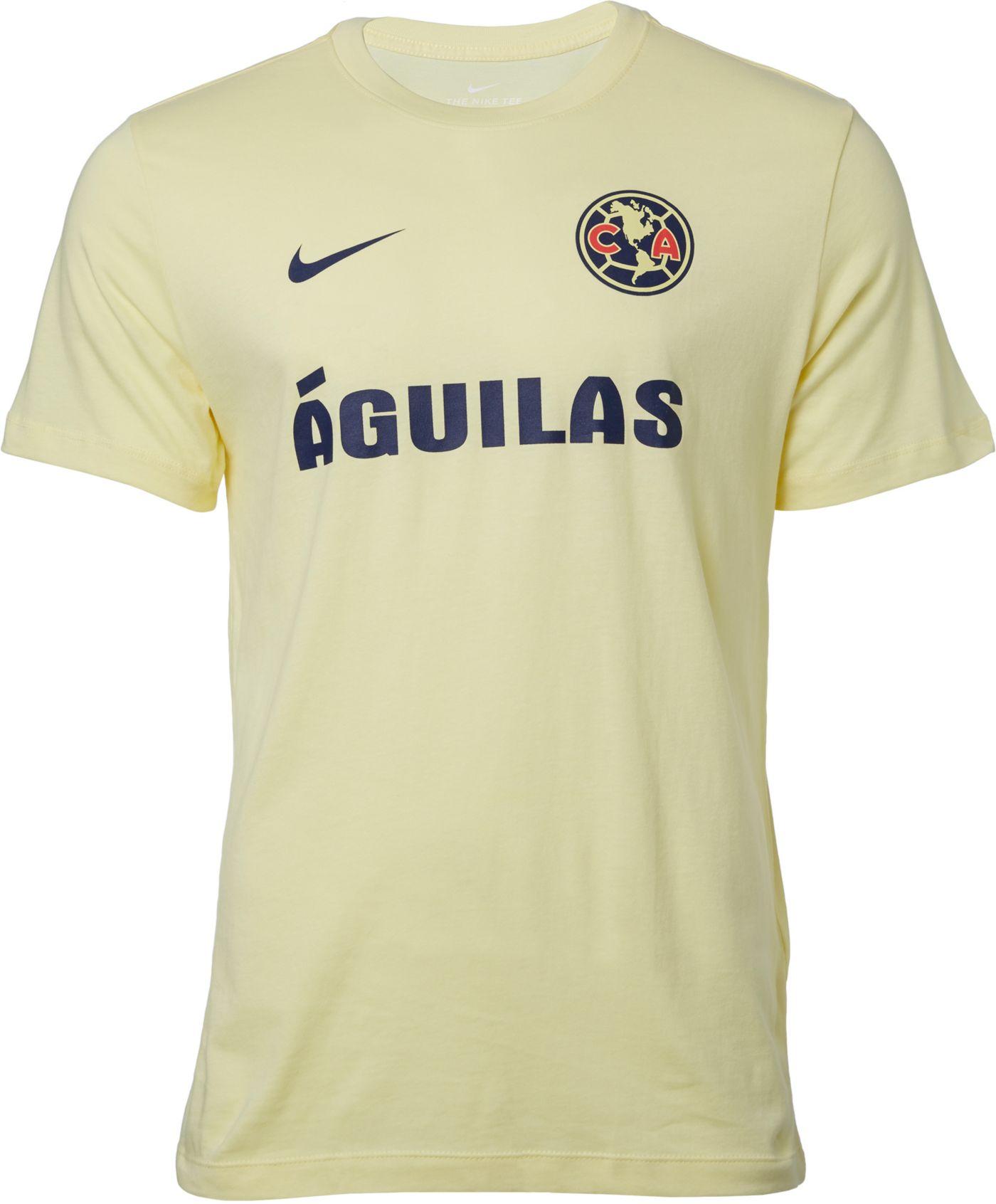 Nike Men's Club America Core Yellow Match T-Shirt