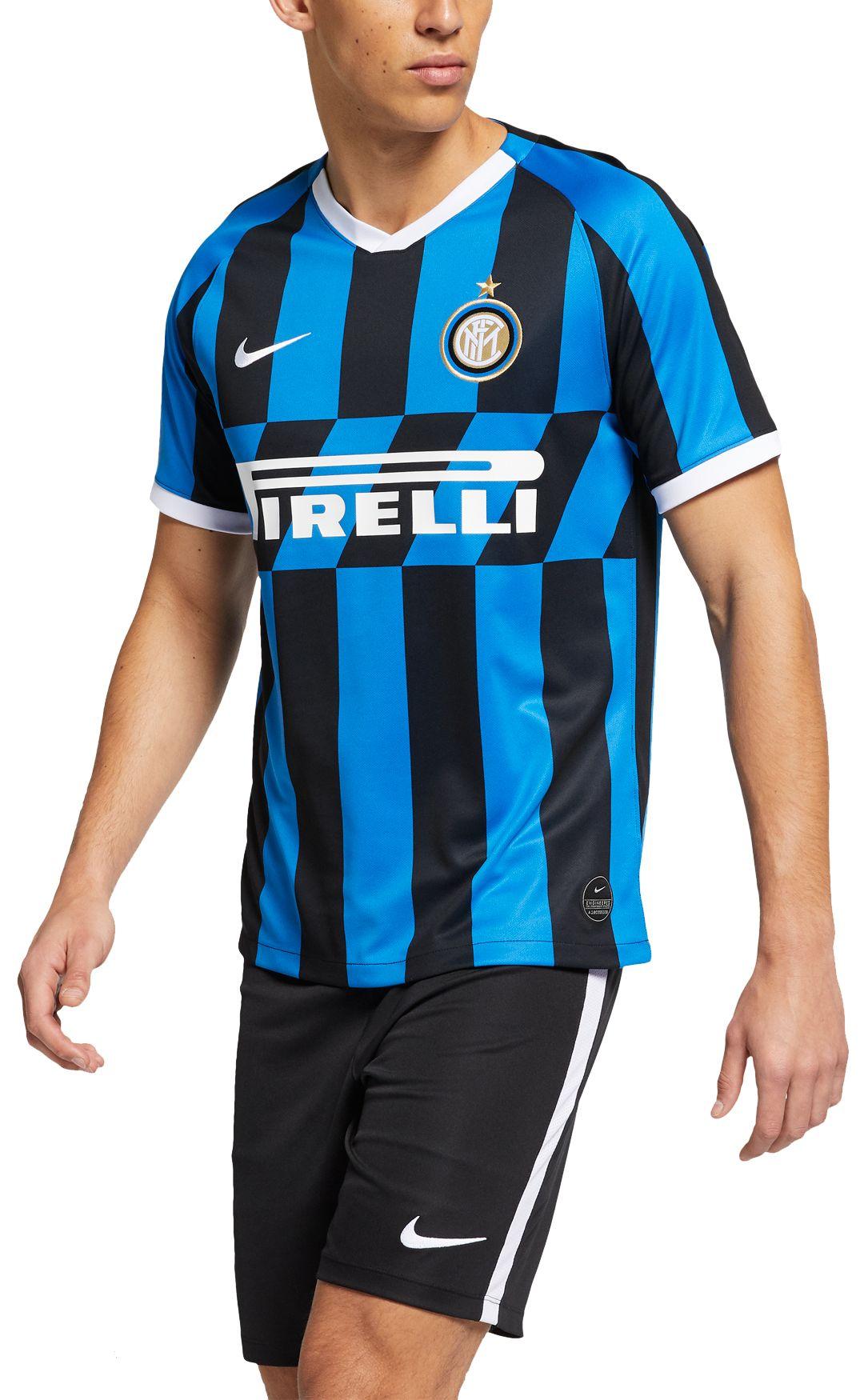 info for 2d62a a05fa Nike Men's Inter Milan '19 Breathe Stadium Home Replica Jersey
