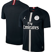 Jordan Men's Paris Saint-Germain 18/19 Breathe Stadium Black Third Replica Jeresy