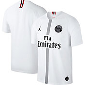 Jordan Men's Paris Saint-Germain 18/19 Breathe Stadium White Third Replica Jeresy