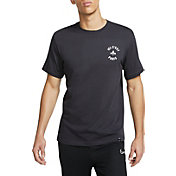 Nike Men's Paris Saint-Germain Story Telling Grey T-Shirt