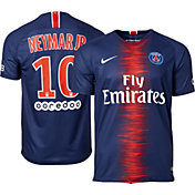 Nike Men's Paris Saint-Germain Neymar #10 2018 Breathe Stadium Home Replica Jersey