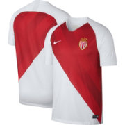 Nike Men's AS Monaco 2018 Breathe Stadium Home Replica Jersey