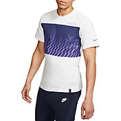 Nike Men's Tottenham Hotspur Travel Crest White T-Shirt