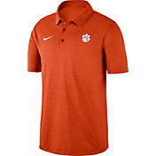 Nike Men's Clemson Tigers Orange Dri-FIT Breathe Polo