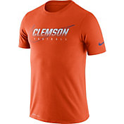 Nike Men's Clemson Tigers Orange Football Dri-FIT Cotton Facility T-Shirt