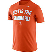 Nike Men's Clemson Tigers Orange Dri-FIT Phrase T-Shirt