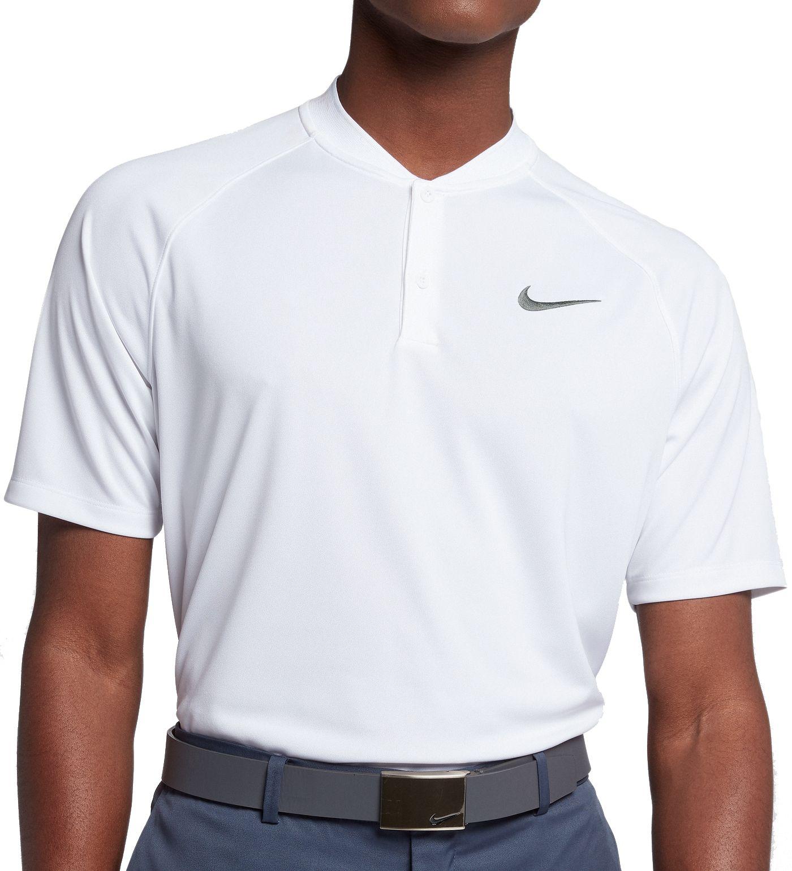 Nike Men's Dry Momentum Blade Collar Golf Polo