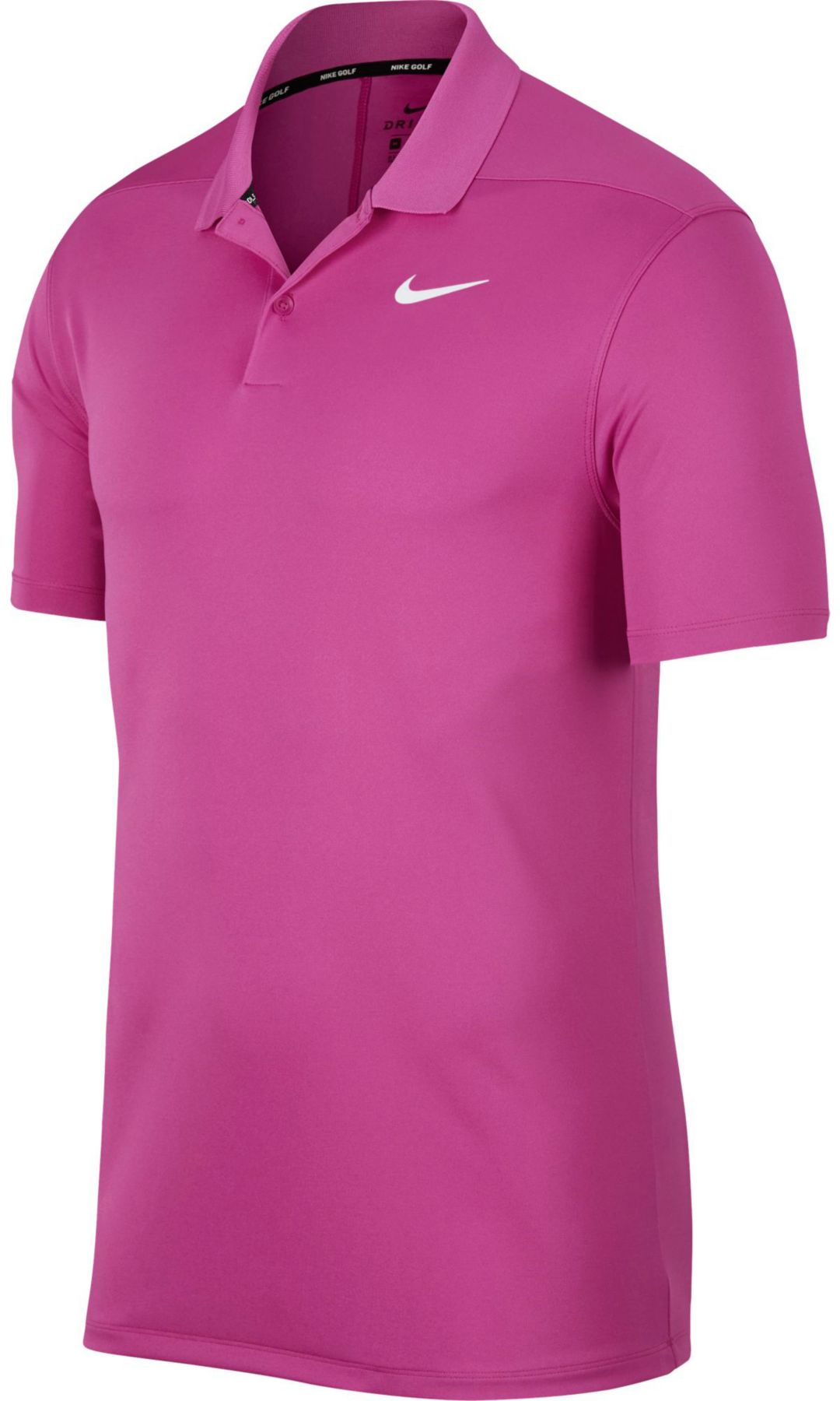 c0f60973a Nike Men s Solid Dry Victory Golf Polo 1