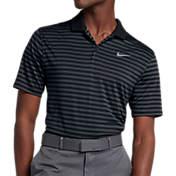 203b39f39 Nike Mens Striped Dry Victory Golf Polo