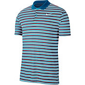 Nike Men's Striped Dry Victory Golf Polo
