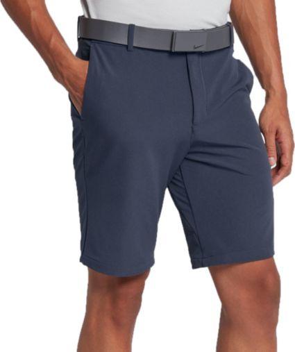 Nike Men's Solid Slim Fit Flex Golf Shorts