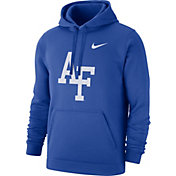 Nike Men's Air Force Falcons Blue Club Fleece Pullover Hoodie
