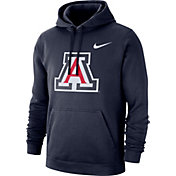 Nike Men's Arizona Wildcats Navy Club Fleece Pullover Hoodie