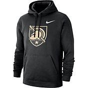 Nike Men's Army West Point Black Knights Club Fleece Pullover Army Black Hoodie