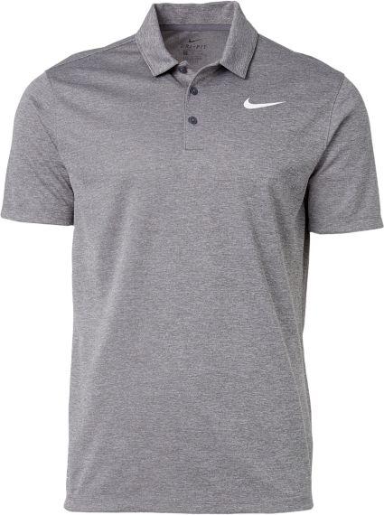 Nike Men's Heather Dry Golf Polo