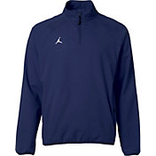 Jordan Men's RE2PECT Pullover Baseball Training Jacket