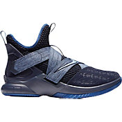 b9cea2afa17 Product Image · Nike Zoom LeBron Soldier XII Basketball Shoes in Blue Blue