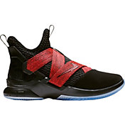 573c84e33bd Product Image · Nike Zoom LeBron Soldier XII Basketball Shoes in Black Red