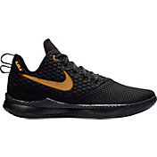 59357a62acf1 Product Image · Nike Men s LeBron Witness III Basketball Shoes. Black Black  · Black Red ...