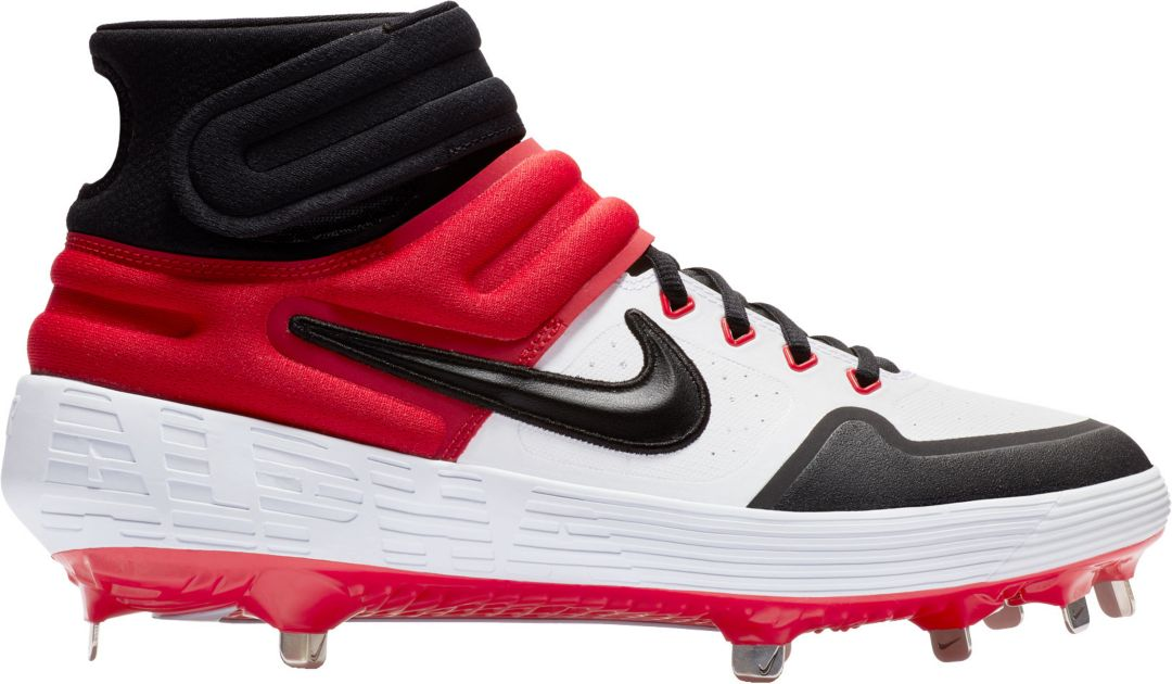 best cheap a12af e98ea Nike Men s Alpha Huarache Elite 2 Mid Baseball Cleats 1