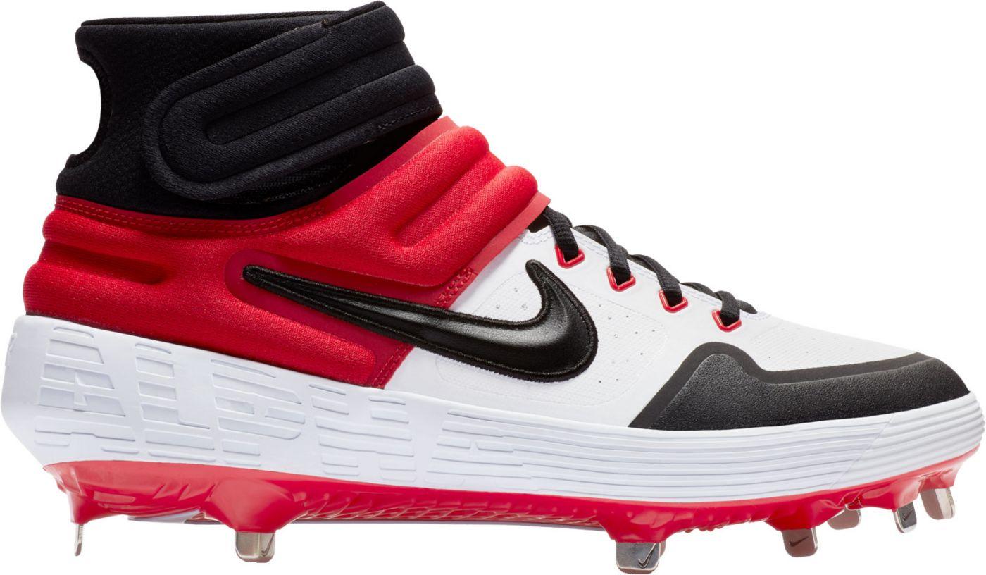 Nike Men's Alpha Huarache Elite 2 Mid Baseball Cleats